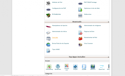cPanel Red Radio y PC - acceso a cron jobs